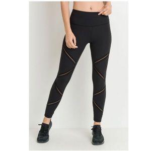 Pants - HIGHWAIST INFINITY MESH LEGGINGS